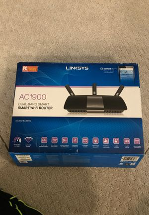Linksys AC1900 Dual-Band Smart WiFi Router for Sale in Frisco, TX