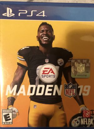 Madden 19 PS4 for Sale in Eau Claire, WI