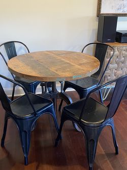 Industrial Modern Table & Chairs for Sale in Nashville,  TN