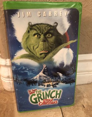 How The Grinch Stole Christmas VHS movie for Sale in San Diego, CA