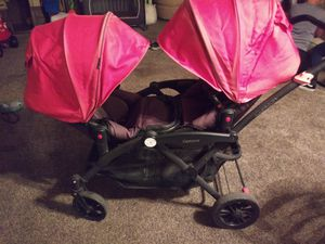 CONTOURS DOUBLE STROLLER for Sale in Montclair, CA