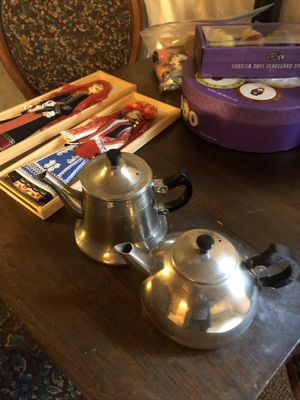 Russian miniature tea pots, picture frames dishes for Sale in Aurora, CO