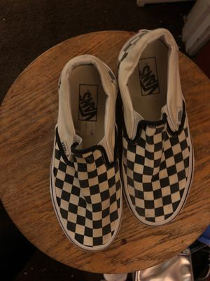 Vans size 7 women's men's size 5 for Sale in Tacoma, WA