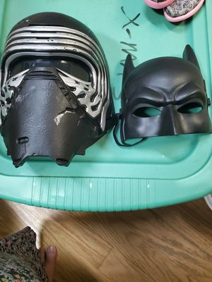 Batman mask and Darth Vader mask for Sale in Land O Lakes, FL