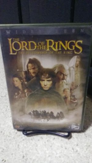 Lord of the rings fellowship of the rings dvd for Sale in Yakima, WA