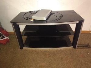 Tv stand glass for Sale in Nashville, TN