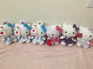 TY Hello Kitty beanie babies - 4 design - New with tag - price for each - rare for Sale in San Jose, CA