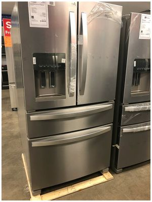 Whirlpool Stainless [*]Refrigerator Discounted 1yr Manufacturers Warranty[*] for Sale in Mesa, AZ