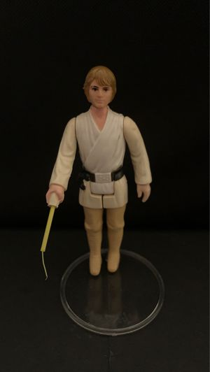 1977 Farmboy Luke SkyWalker Brown Hair Variant complete Star Wars figure for Sale in Gilbert, AZ