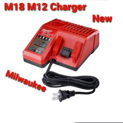 New Milwaukee M18 - M12 Battery Charger. for Sale in Downey,  CA