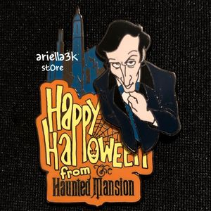 Limited Edition WDW Pin Happy Halloween Haunted Mansion. Rare for Sale in Kissimmee, FL