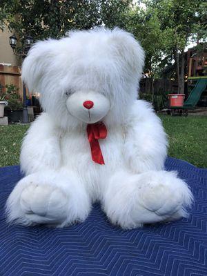 White Cuddly Big Bear Stuffed Animal for Sale in Sacramento, CA