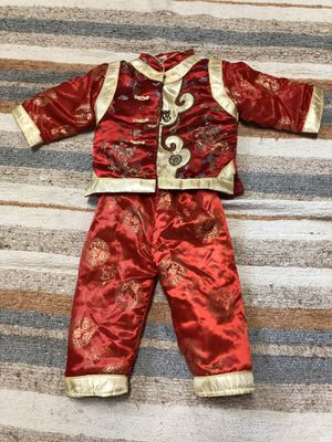 Oriental costume outfit, kids child size 2T-3T for Sale in Mableton, GA