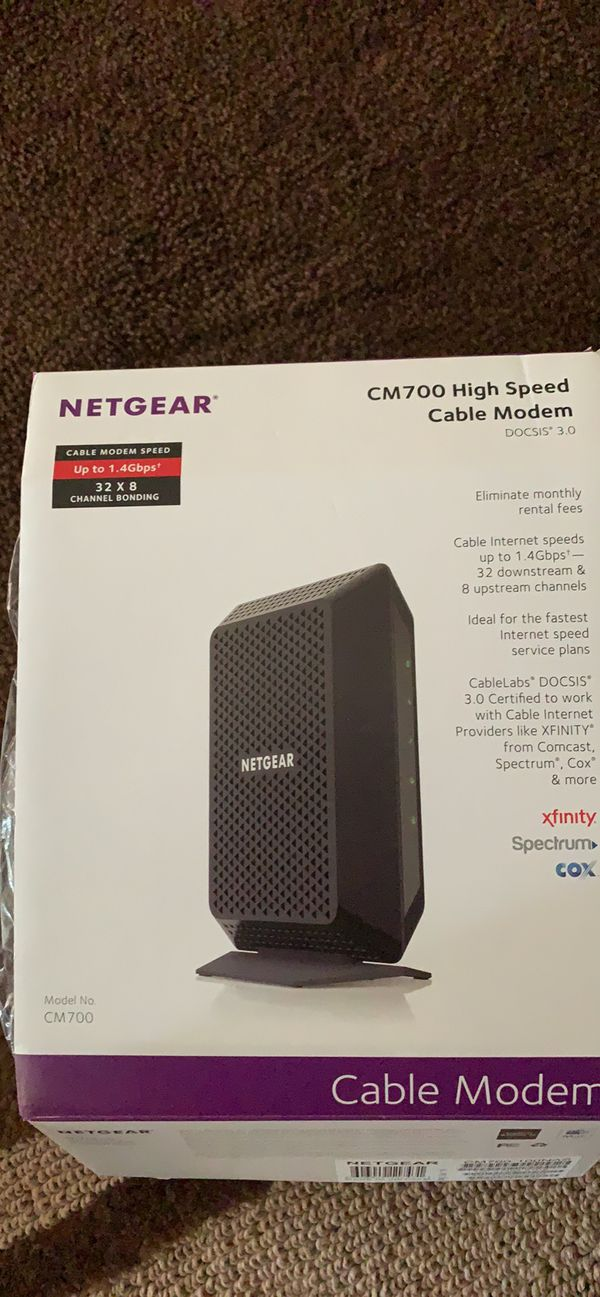 NETGEAR CM700 Cable Modem