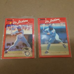 1990 donruss bo Jackson error and correction baseball cards for Sale in Brooklyn, NY