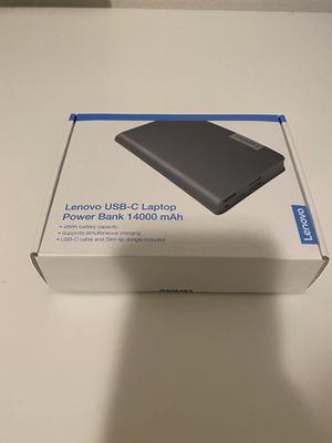 Lenovo Laptop Powerbank- New for Sale in Chula Vista, CA