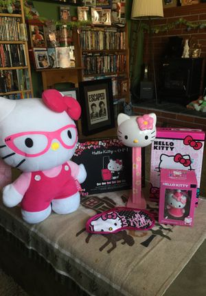 "Great Hello Kitty Package Deal Backpack/12""Przemek/Ornament/Nail Polish for Sale in Berlin, CT"