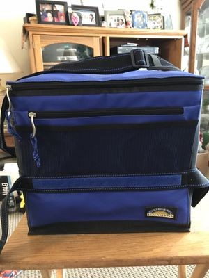 Royal Blue and Black Collapsible Cooler for Sale in New Haven, CT