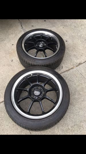 Rims and tires for Sale in San Jose, CA