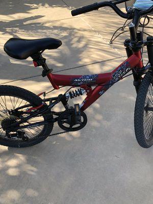 "20"" bike Avico Dual Suspensions with New dirt ties off road bike series 2.0 (like new) for Sale in Carlsbad, CA"