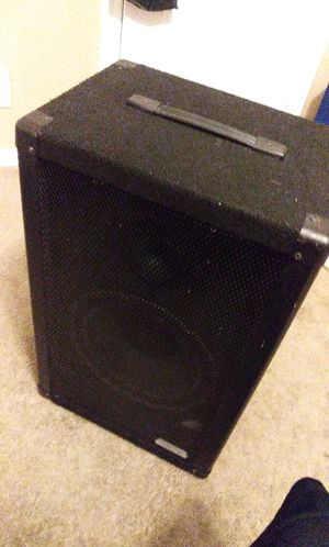 112dc amplifier speakers no cords asking 80 for Sale in San Antonio, TX