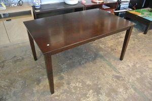 BH&G Farmhouse Mid Century Kitchen Dining Room Table in Brown for Sale in Scottsdale, AZ