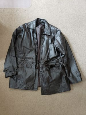 Phase Two leather coat for Sale in Frederick, MD