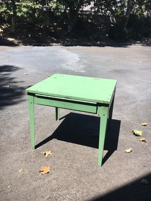 1950's Industrial Factory Table for Sale in Buellton, CA
