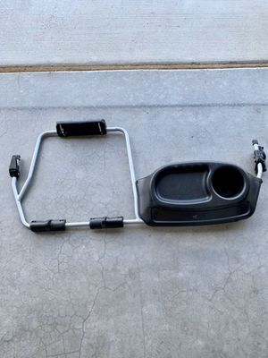 Bob duallie double tray and Graco car seat adapter for Sale in Corona, CA