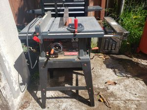 Craftsman table saw...Make an offer for Sale in Los Angeles, CA