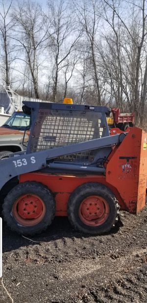 Thomas skidster with grapple abd stump grinder for Sale in North Haven, CT