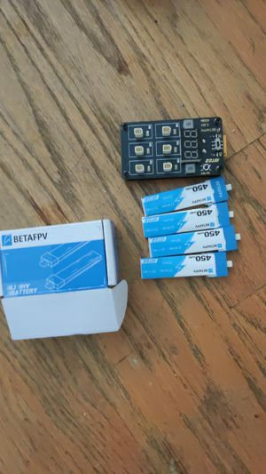 4 brand new betafpv 450mah 1s for Sale in Seattle, WA