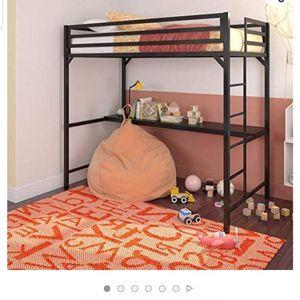 New In Box Twin Loft Bed W/ Desk for Sale in Tacoma, WA