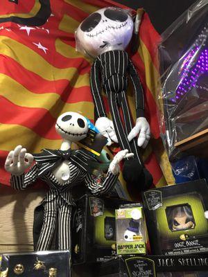 Nightmare before Christmas Jack skeleton Sally Okie boogie not $1 Dollar for Sale in La Habra, CA