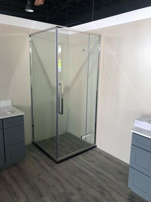 36 x 36 square shower room open box sale, 15% off for Sale in West Covina, CA