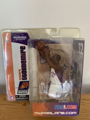 Amare Stoudemire Phoenix Suns DEBUT ACTION FIGURE MACFARLANE SERIES 4 for Sale in Tampa, FL