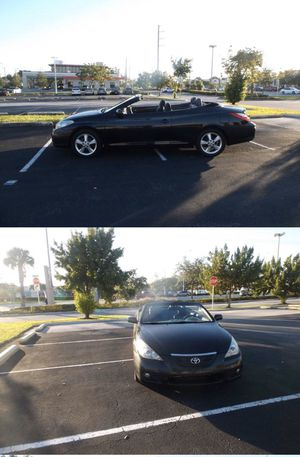 2008 Toyota Camry Solara Convertible! for Sale in Hollywood, FL