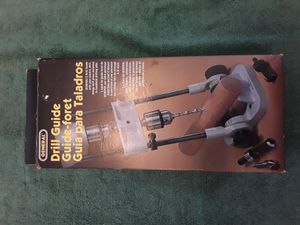 GENERAL 36/37 Precision Drill Guide For 3/8-Inch or 1/2-Inch Power Drills for Sale in Chandler, AZ