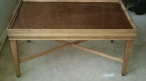 Coffee wooden table for Sale in Sebring, FL