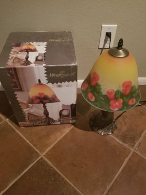 Home Trends Decorative Floral Lamp - Tiffany Style for Sale in Glendale, AZ