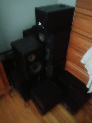 25 pieces of home audio for Sale in Cranston, RI