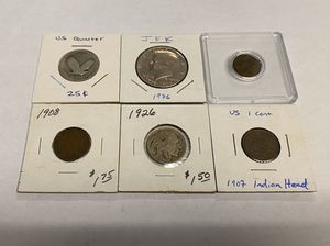 Collection of US Coins plus Roman Bronze 330AD Constantine the Great for Sale in Alexandria, VA