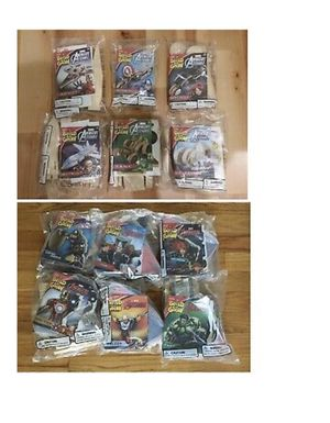 Lowe's Build And Grow Marvel Avengers 2015 + Avengers 2016 Complete Set Of 12 for Sale in Beaverton, OR