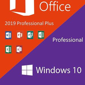 Windows 10 Pro + 2019 Microsoft Office Pro Plus for Sale in Los Angeles, CA