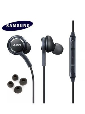 Genuine samsung Earphones Corded Tuned by AKG headphones black blue with earbuds for Sale in Chula Vista, CA