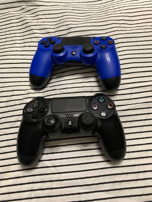 PS 2 wireless controllers for Sale in Hacienda Heights, CA