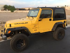 2001 Jeep Wrangler sport for Sale in Henderson, NV