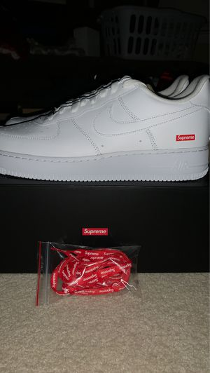 Supreme x Nike Air Force One for Sale in Humble, TX