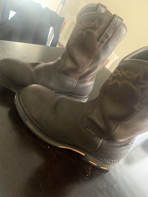 Ariat working boots for Sale in Riverside, CA