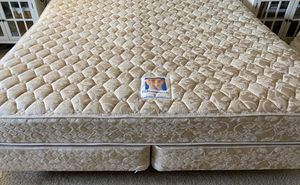 King bed with twin box springs and frame. for Sale in Olympia, WA